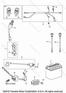 Yamaha Atv 2017 Oem Parts Diagram For Electrical