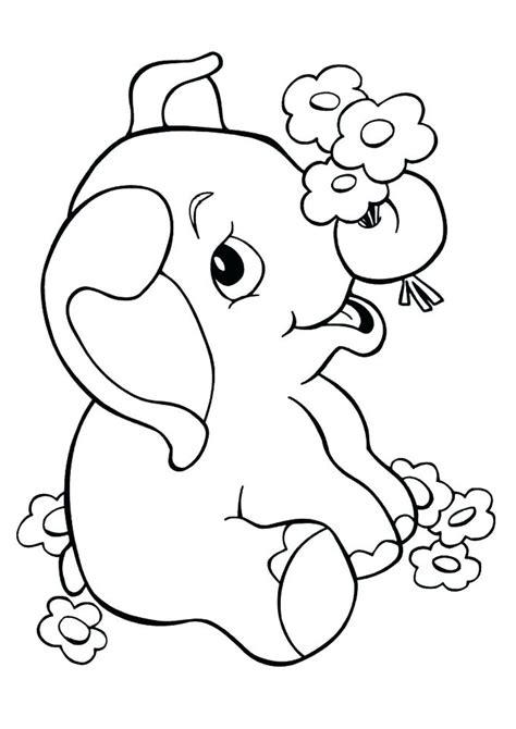 disegni  elefanti da colorare disegni da colorare