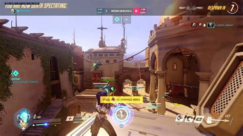 Super Toxic Guy Forces Girl Mercy Overwatch