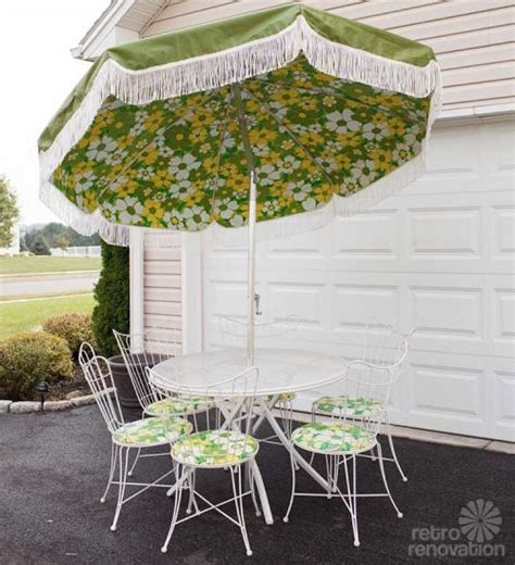 16 vintage homecrest patio set all original