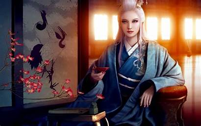 Mario Wibisono Kimono Flower Asia Bowl Backgrounds