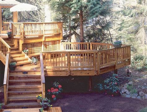 top  ideas   tiered decks home building