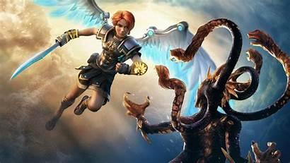 Rising Fenyx Immortals 4k Gods Monsters Games