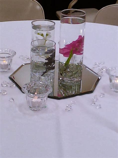 forevermore wedding decor vases candles