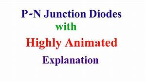 Pn Junction Diodes With Highly Animated Explanation