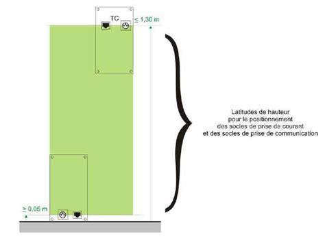 hauteur prise de courant chambre tout savoir sur les normes électriques françaises