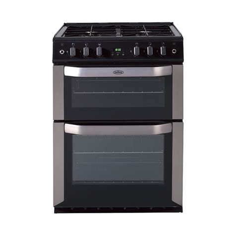 range electric oven freestanding 60cm gas cooker with fanned oven stainless