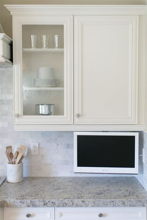kitchen cabinet tv small tv for kitchen cabinet kitchen cabinet