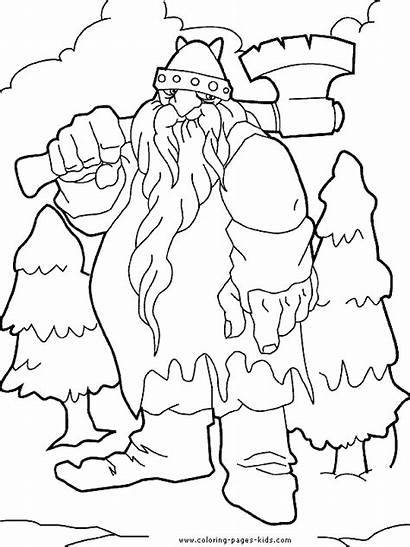 Giant Dessin Coloring Pages Geant Trolls Troll