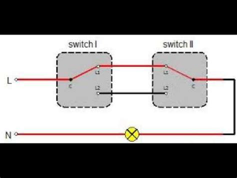 Two Way Switching Diagram Switch Youtube