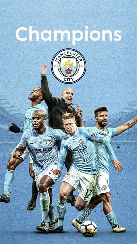 Manchester City Premier League Champions 2019 Wallpapers ...
