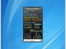 Network Meter Windows 7 Desktop Gadget