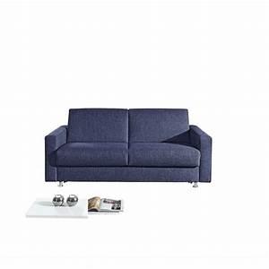 Schlafsofa 140 Cm : schlafsofa stoffbezug blau ca 140 x 200 cm von ansehen ~ Watch28wear.com Haus und Dekorationen