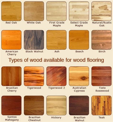 wood type tiles types of wood flooring 4 floor and carpet floors pinterest woods flooring ideas and