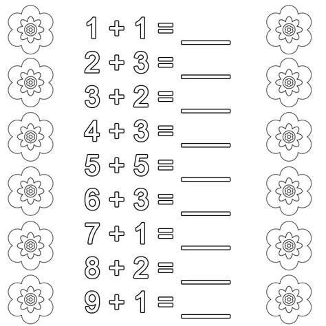Rechenmandala klasse 2 plusaufgaben als ubungsblatt fur mathe. Ausmalbild Rechnen lernen: Addition Arbeitsblatt 1 kostenlos ausdrucken