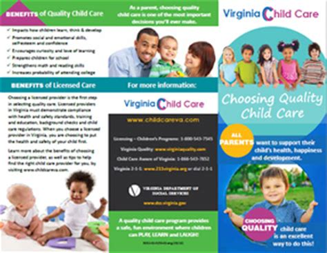 child care virginia department of social services 308 | cc brochure