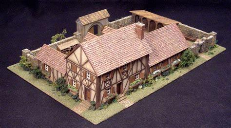 timbered manor house casas en miniatura disenos de