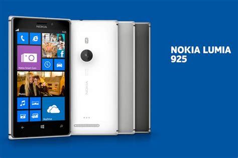 nokia launch lumia 925 smartphone new windows phone boasts sleek metal design and advanced