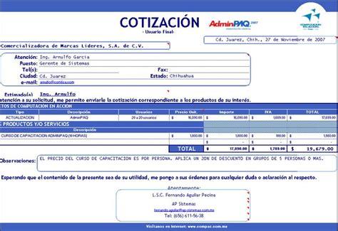 descargar gratis plantillas formatos de cotizaciones presupuestos proformas para