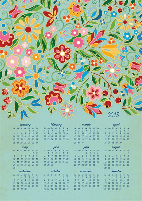 wall calendar     beautiful