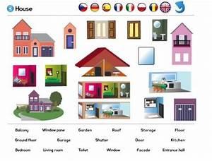Piece De La Maison En Anglais : les lieux de la maison vocabulary pinterest les lieux de la maison et lieux ~ Preciouscoupons.com Idées de Décoration