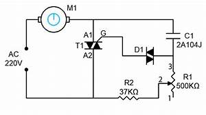 Build A 1000w Ac Motor Speed Controller Circuit Diagram
