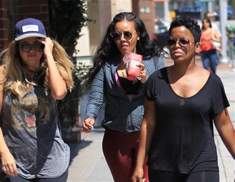 Pregnant Angela Simmons Pays A Visit To A Doctor's Office