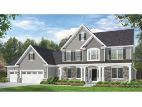 colonial home designs eplans colonial house plan space where it counts 2523 square and 4 bedrooms from eplans