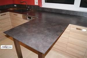 Plan De Travail Céramique : photos de cuisines r alis es sur mesures et install es sur ~ Dailycaller-alerts.com Idées de Décoration