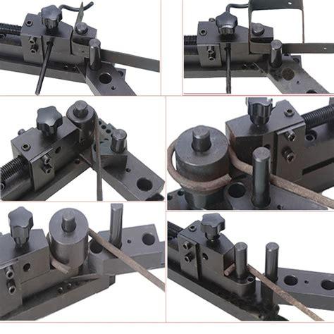manual mounting mini universal bending bender forms wire flat metal  tubing