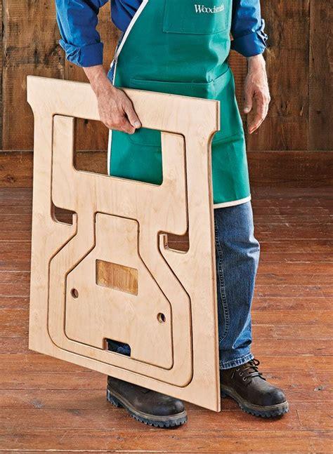 fold flat sawhorses woodsmith plans  unique design