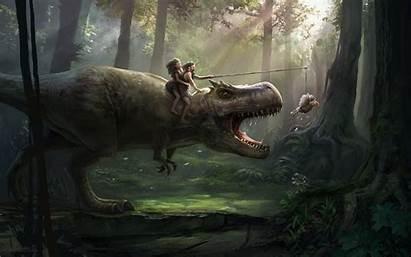 Rex Prehistoric Humor Desktop Wallpapers Backgrounds