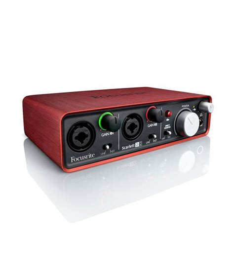 Focusrite 2i2 Best Buy Focusrite 2i2 2 In 2 Out Usb Audio Interface