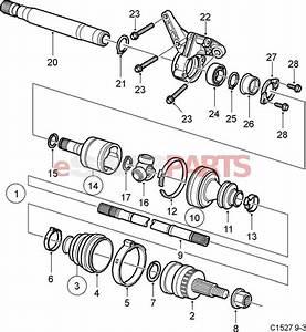 12762089  Saab Axle Shaft
