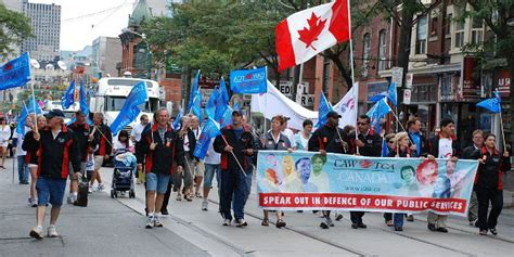 growing immigration  meant canadian unions