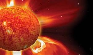 Are Solar Storms Emanating From The Sun Precursor to ...