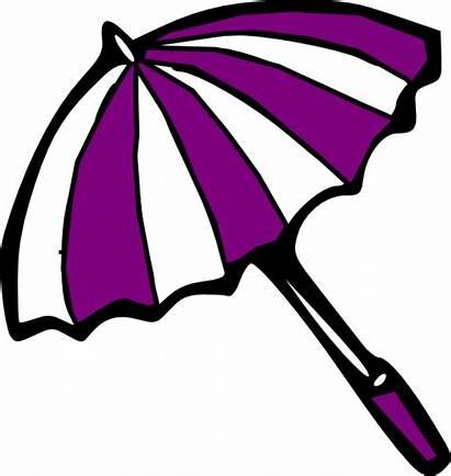 Umbrella Clip Clipart Poppins Mary Clipartix Purple