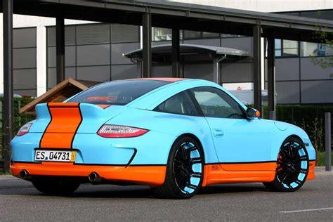 gulf racing colors oxigin 39 s gulf racing style porsche 911