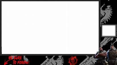 Overlay War Twitch Overlays Gears Stream Gaming