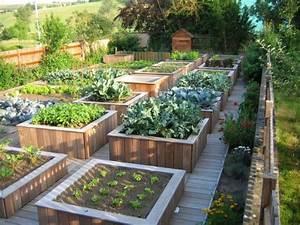 amenagement potager idees comment amenager sa terrasse With amenagement petit jardin avec piscine 10 parc