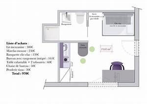 Comment Faire Un Rangement En Bataille : conseils d 39 architecte comment am nager un studio tudiant mezzanine studios et lits ~ Medecine-chirurgie-esthetiques.com Avis de Voitures