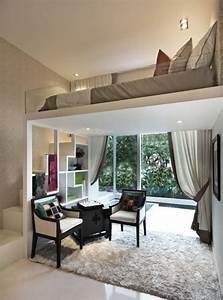 Haustiere Für Kleine Wohnung : die kleine wohnung einrichten mit hochhbett freshouse ~ Lizthompson.info Haus und Dekorationen