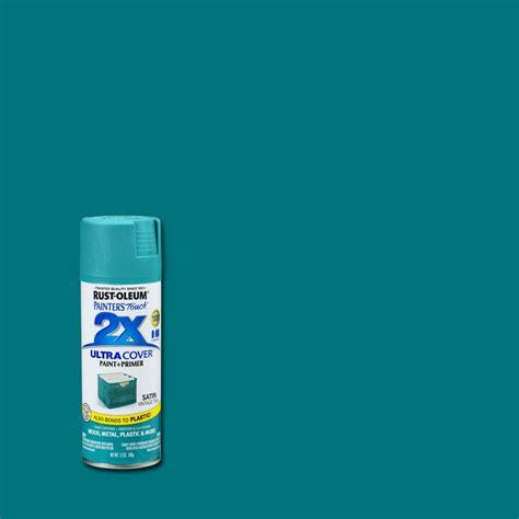 rust oleum painter s touch 2x 12 oz satin vintage teal