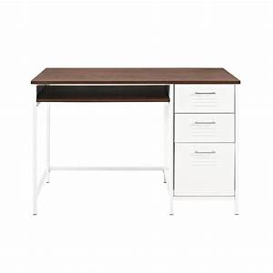 walker edison furniture company locker style 48 in white With home depot white furniture paint
