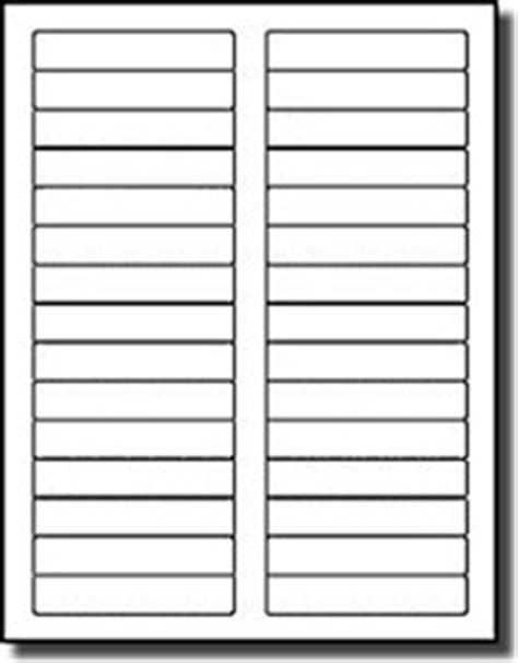 Click in the print palette. 600 Compulabel® White Blank Printable File Folder Labels ...