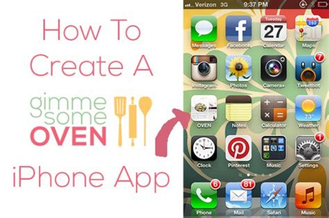 how to make apps for iphone how to create a iphone app gimmesomeoven