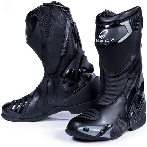 road motorbike boots black venom race track road motorcycle motorbike boots all