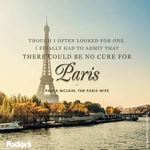 Travel Quote of... Inspirational Paris Quotes