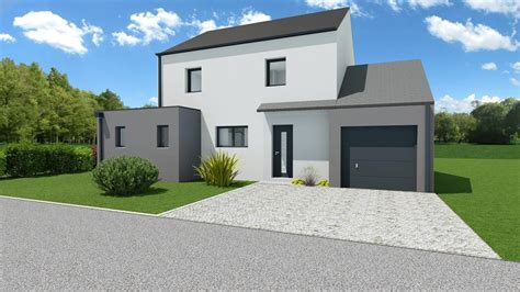 maison moderne 4 chambres avec garage mtc maisons individuelles