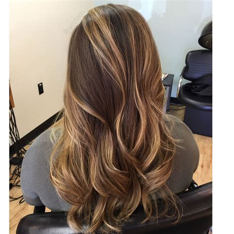 Types Of Brown Hair by Honey Beige Highlights For Hair Types Highlights